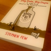 Cover: Big Data, Big Dupe - a little book of a big bunch of nonsense von Stephen Few